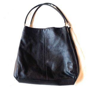 Coach Madison Phoebe Hobo, Pebbled Leather Bag.